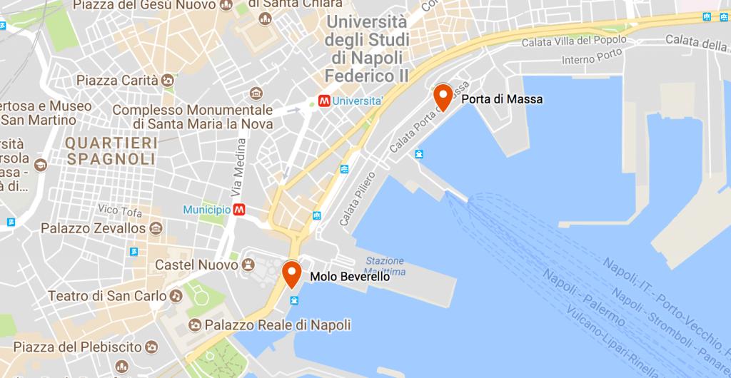 traghetti aliscafi napoli capri