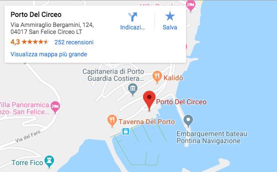 traghetti aliscafi ponza