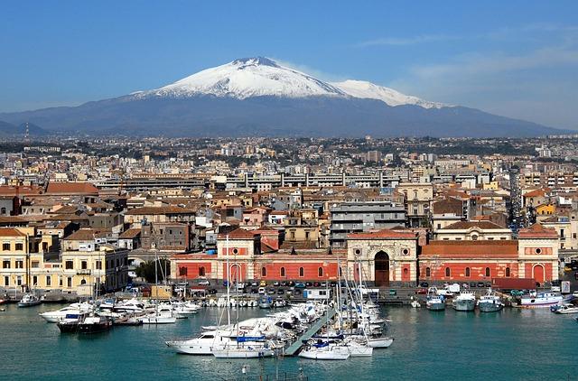 cosa visitare sicilia sette giorni catania etna